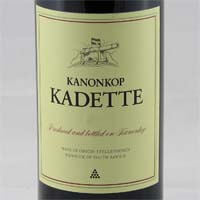 Kanonkop Kadette Cape Blend Wine of Origin Stellenbosch 2016 750ml
