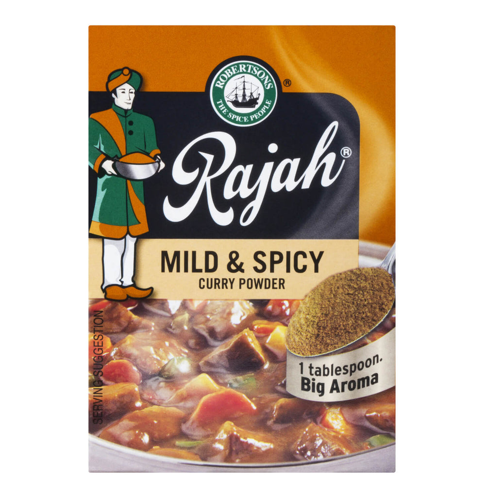 Robertsons Rajah Mild and Spicy Curry Powder 100g