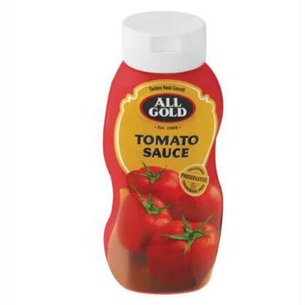 All Gold Tomato Sauce - Squeeze Bottle (Kosher) 500ml - African Hut