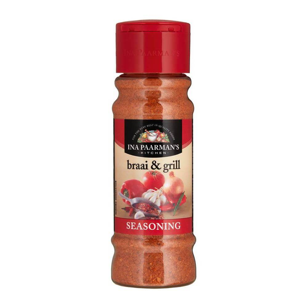 Ina Paarman Braai and Grill Seasoning (Kosher) 200ml