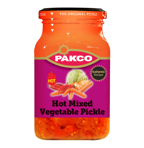 Pakco Hot Mixed Vegetable Pickle 385g