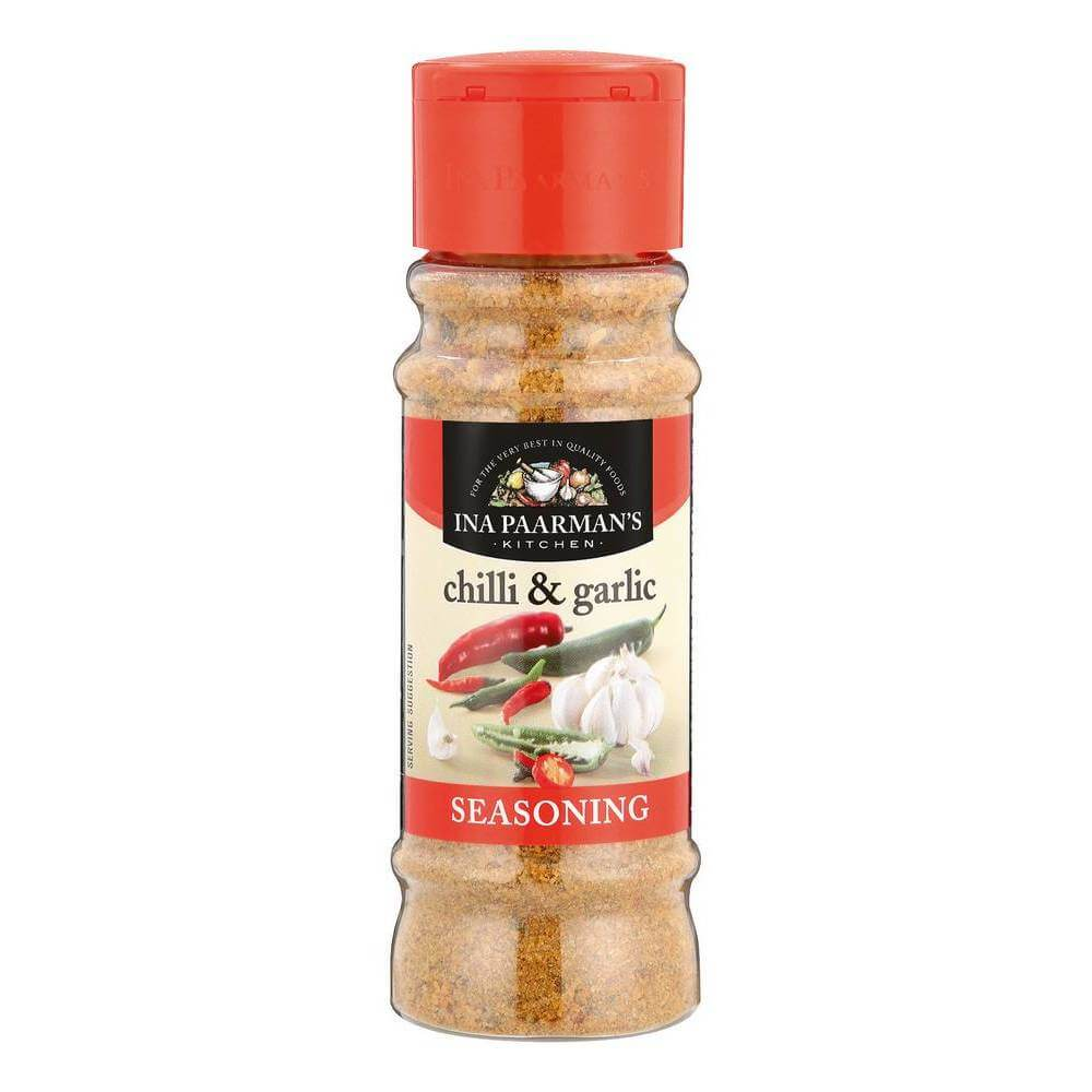 Ina Paarman Chilli and Garlic Seasoning (Kosher) 200ml