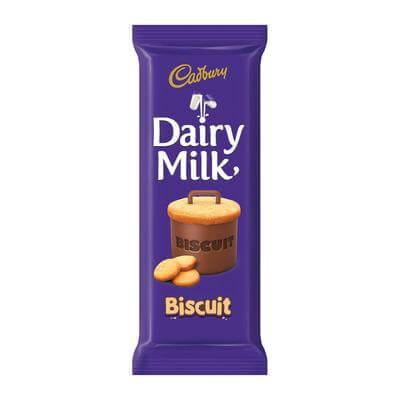 Cadbury Dairy Milk with Biscuit Slab 80g