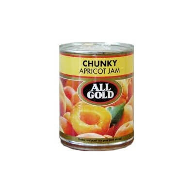 All Gold Jam - Chunky Apricot (Kosher) 450g - African Hut