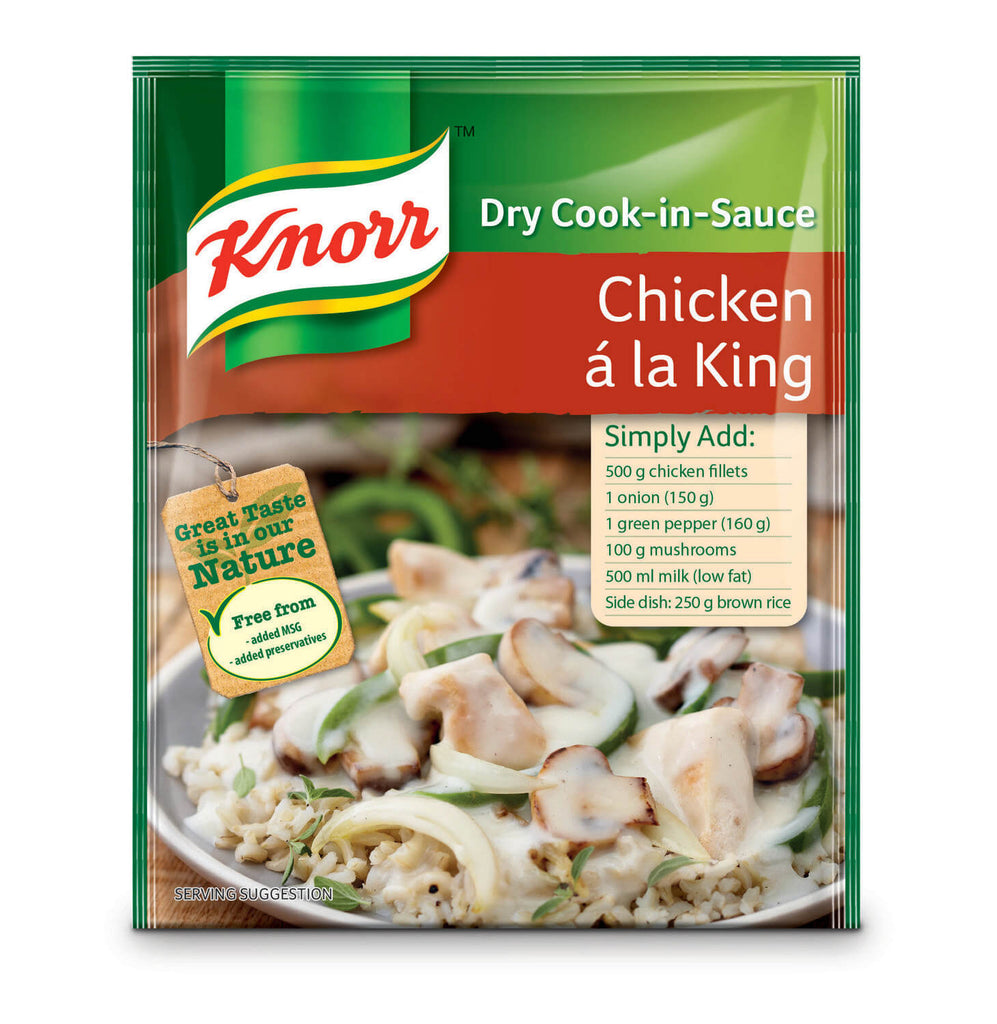 Knorr Chicken a la King Packet 58g