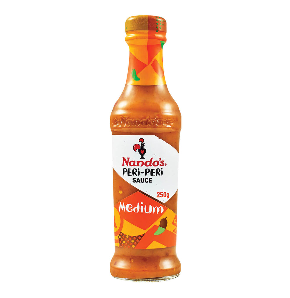 Nandos Peri Peri Sauce - Medium Large Bottle (Kosher) 260g