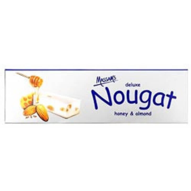 Massams Nougat - Honey Almond Box (Pack of 6 Bars) (Kosher) 150g