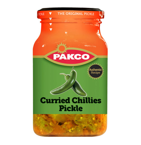 Pakco Curried Chilies Pickle 350g