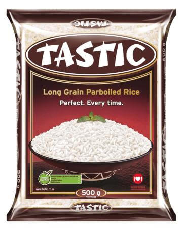 Tastic Rice - Long Grain Parboiled Small Bag (Kosher) 500g