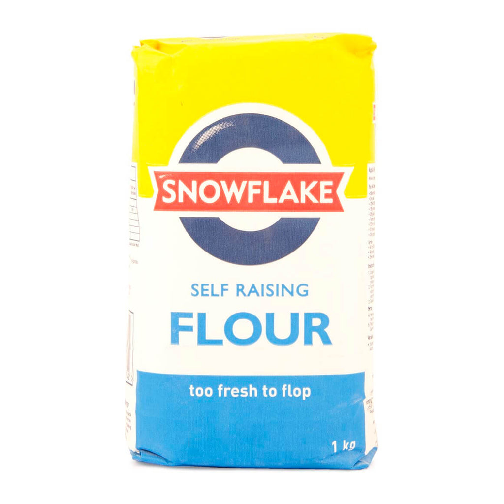 Snowflake Flour - Self Raising Wheat Flour 1kg - African Hut