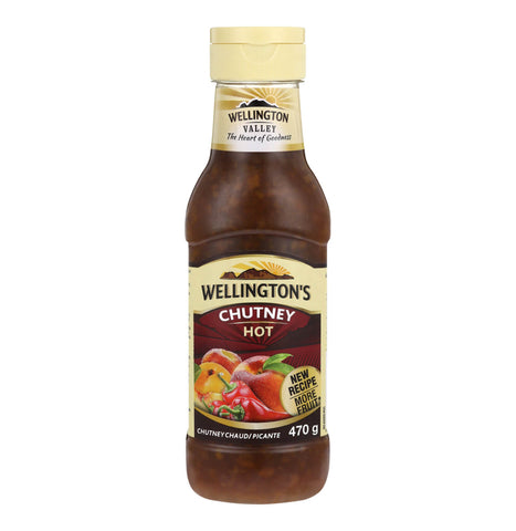 Wellingtons Hot Chutney Squeeze Bottle (Kosher) 470g