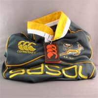 African Hut Springbok Rugby Shirt - Age 6 350g