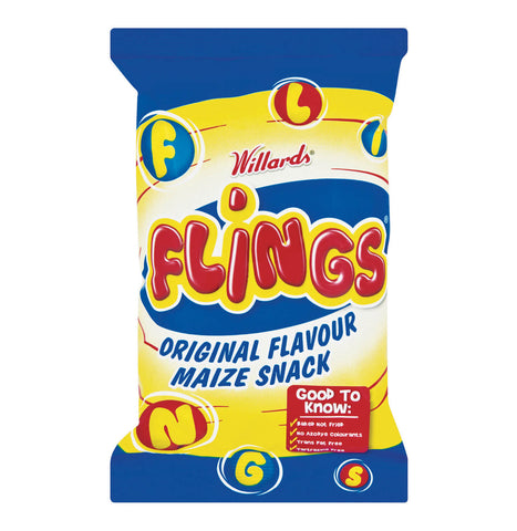 Willards Flings (Kosher) 150g