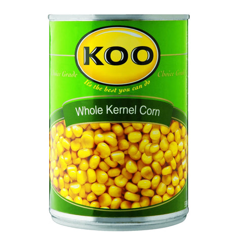 Koo Corn - Whole Kernel in Brine (Kosher) 410g - African Hut