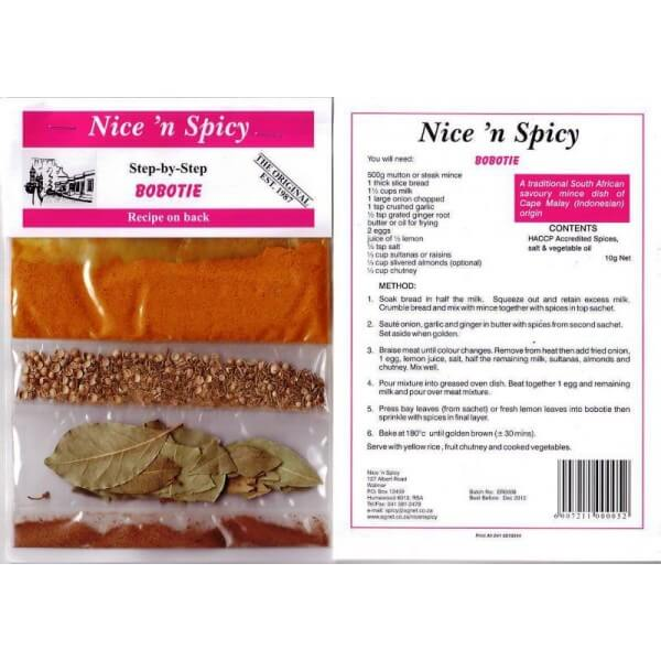 Nice and Spicy - Boboti Spice Mix 10g