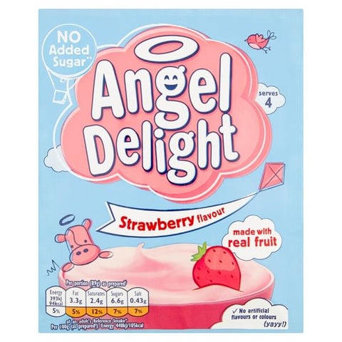 Birds Angel Delight - Strawberry Flavor 59g