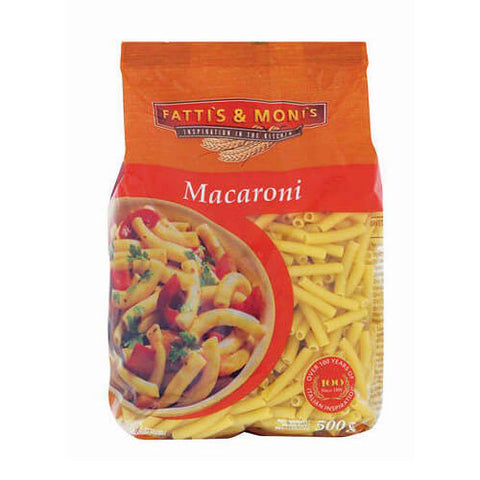 Fattis and Monis Macaroni 500g