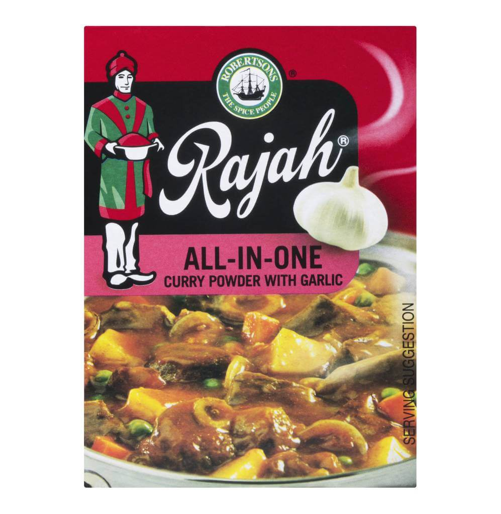 Robertsons Rajah All in One Garlic Curry Powder 100g