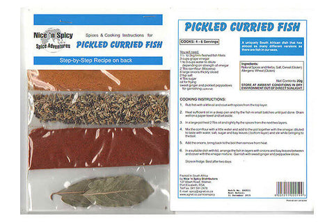Nice and Spicy - Pickled Fish Spice Mix 20g