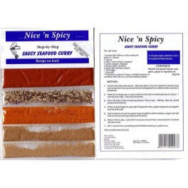 Nice and Spicy - Saucy Seafood Spice Mix 20g
