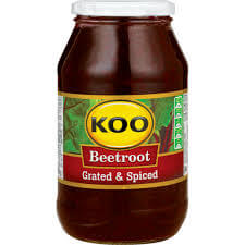 Koo Beetroot - Grated and Spiced Large Jar (Kosher) 780g - African Hut