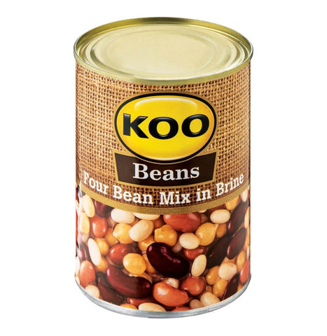 Koo Bean Mix in Brine (Kosher) 410g - African Hut