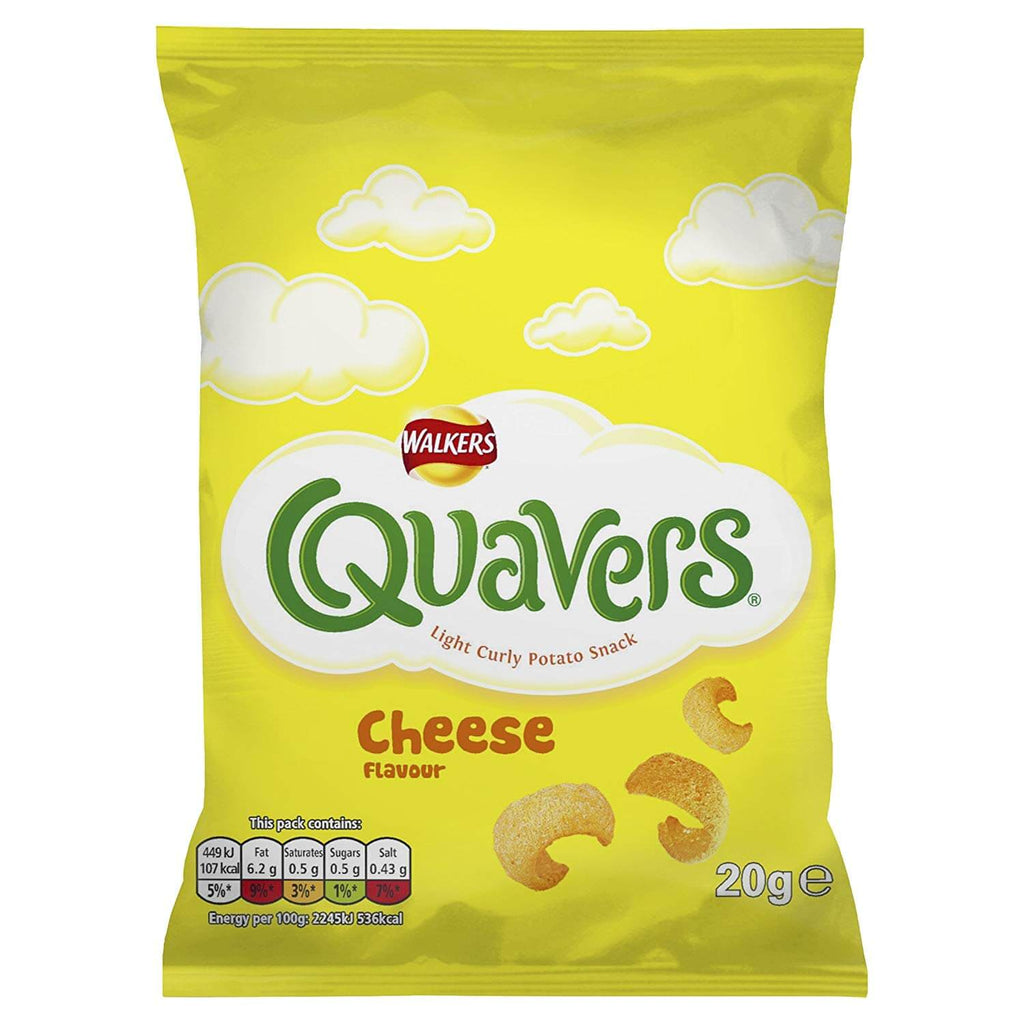 Walkers Crisps - Quavers Cheese Flavour 20g