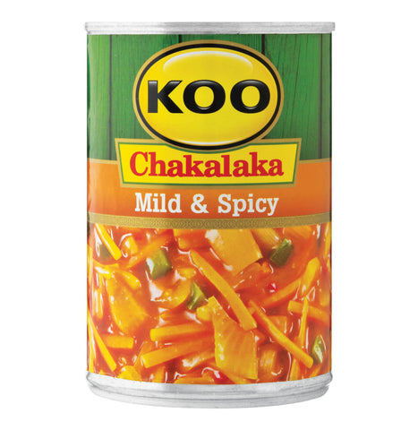 Koo Chakalaka - Mild and Spicy (Kosher) 410g - African Hut