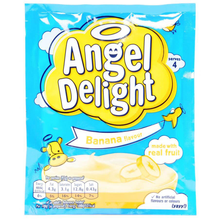 Birds Angel Delight - Banana Flavour 59g