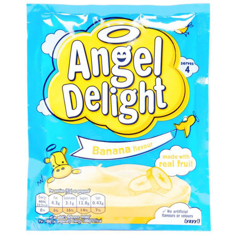 Birds Angel Delight - Banana Flavor 59g