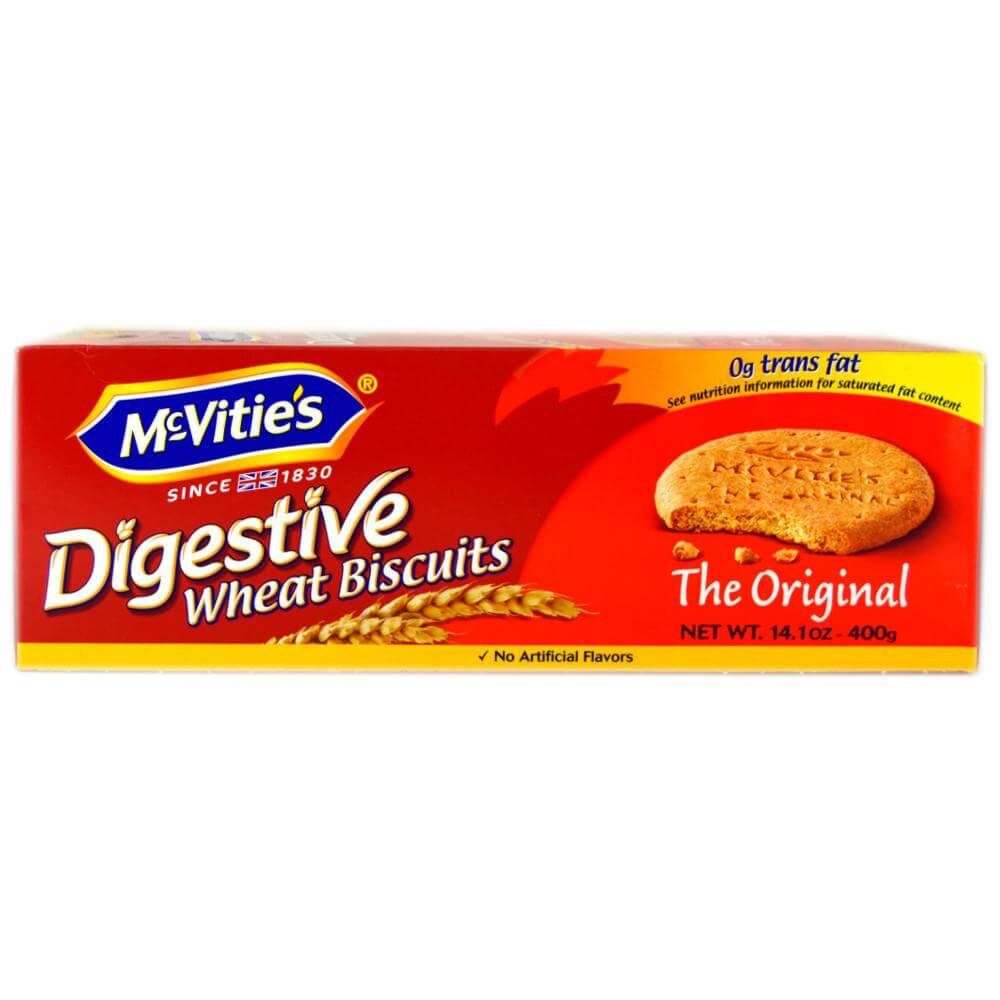 McVities Digestives - Boxed Original Biscuits 400g