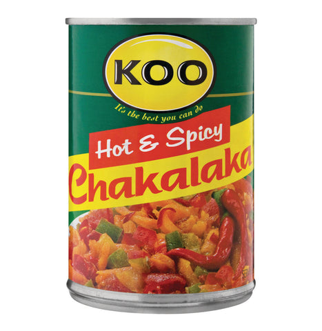 Koo Chakalaka - Hot and Spicy (Kosher) 410g