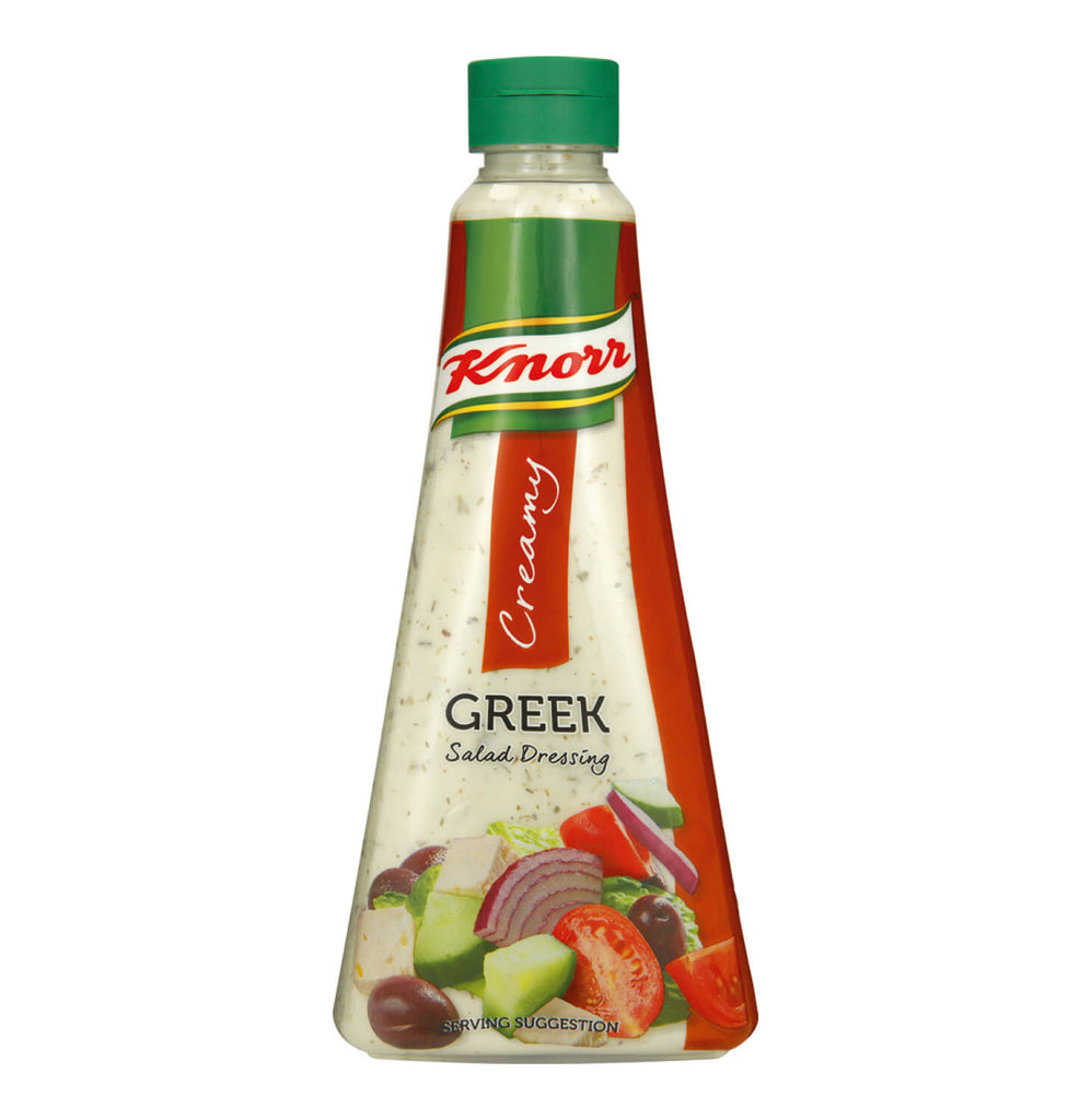 Knorr Salad Dressing -Creamy Greek 340ml