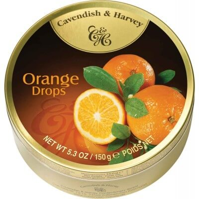 Cavendish and Harvey Orange Fruit Drops 150g