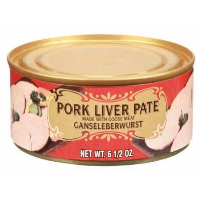 Geiers Pork Liver Pate With Goose Meat 184g