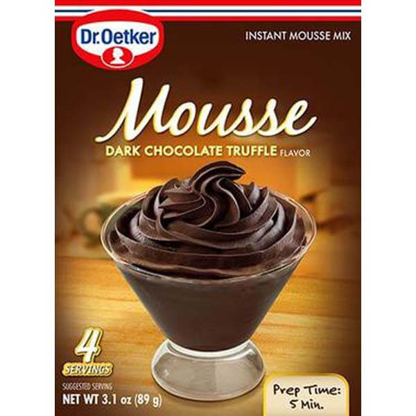 Dr Oetker Dark Chocolate Truffle Mousse Mix 89g