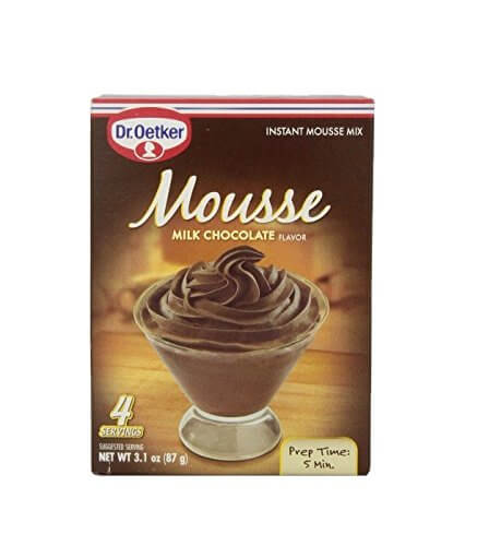Dr Oetker Milk Chocolate Mousse Mix 87g