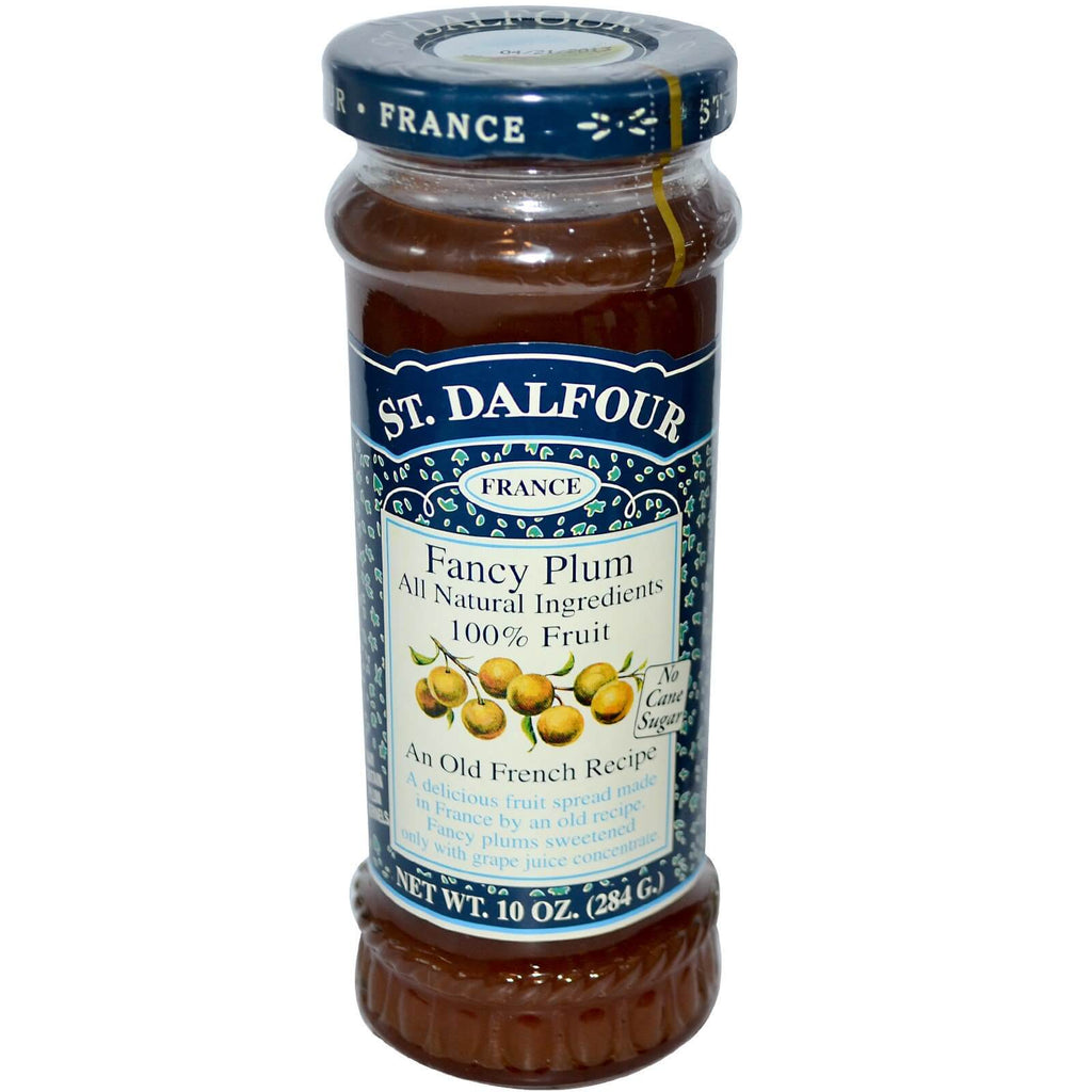 St. Dalfour Fancy Plum Fruit Spread 284g