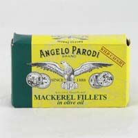 Angelo Parodi Mackerel Fillets in Olive Oil 125g