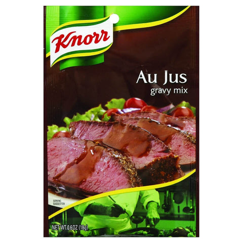 Knorr Au Jus Flavored Gravy Mix with other Natural Flavor 18g