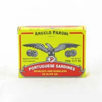 Angelo Parodi Portuguese Sardines in Olive Oil 105g - African Hut