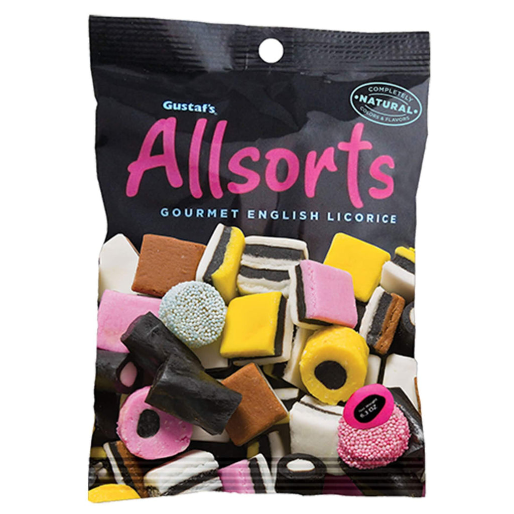 Gustafs Allsorts Gourmet English Licorice 180g