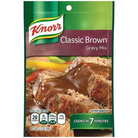 Knorr Classic Brown Gravy Mix 34g
