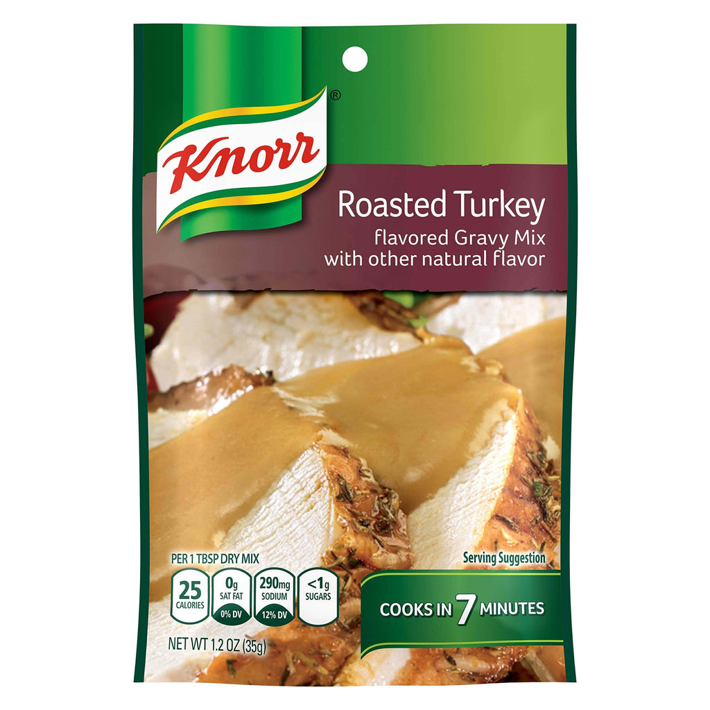 Knorr Roasted Turkey Flavoured Gravy Mix 35g