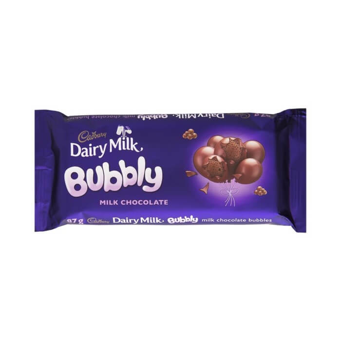 Cadbury Bubbly - Milk Chocolate 87g