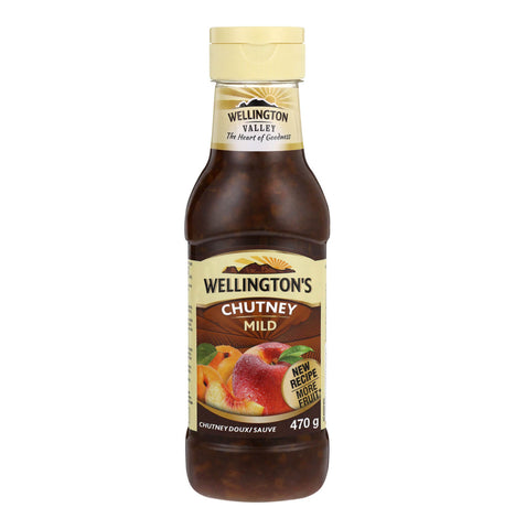 Wellingtons Mild Chutney Squeezy Bottle (Kosher) 470g
