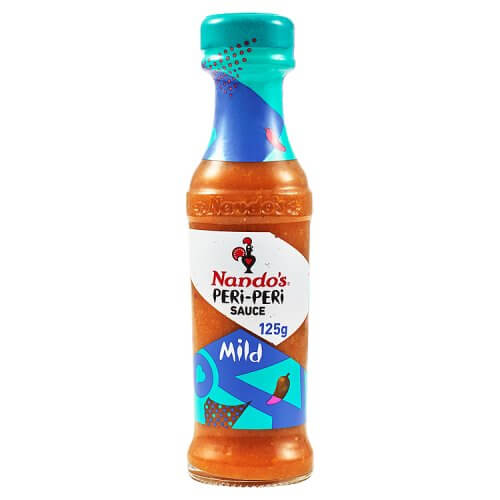 Nandos Peri Peri Sauce - Mild Small Bottle (Kosher) 125g