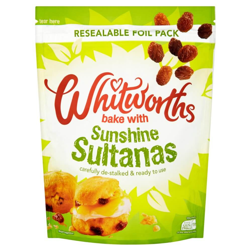 Whitworths Fruit - Juicy Sultanas Bag 325g