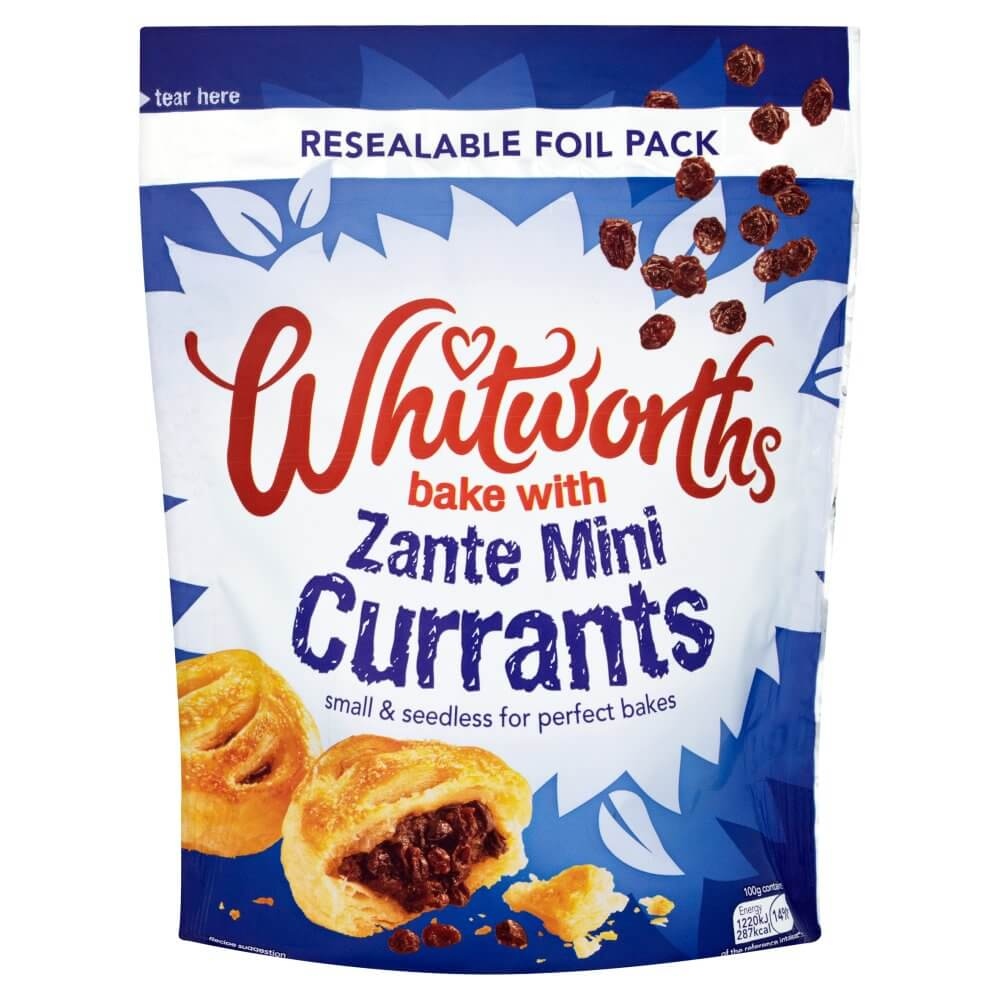 Whitworths Fruit - Zante Mini Currants Bag 350g