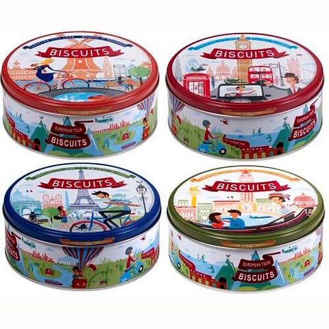 Jacobsens European Tour Collection Tins 150g